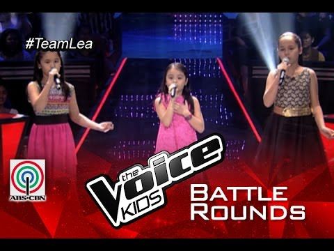 """The Voice Kids PH 2015 Battle Performance: """"Somewhere Out There"""" by Bianca vs Esang vs Stephanie"""