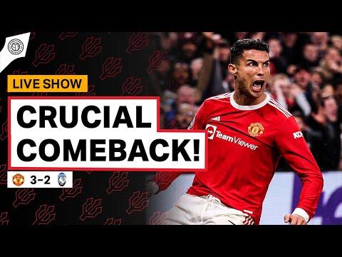 Ronaldo Secures Crucial Comeback!   Manchester United vs Atalanta   Champions League Match Review