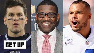 Michael Irvin clarifies Tom Brady-Dak Prescott take   Get Up