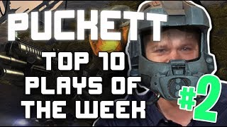 PUCKETT's Top 10 Plays of the Week #2 - Halo 3