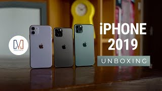 iPhone 2019 Unboxing: Purple, Midnight Green or Space Grey?