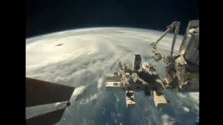 Typhoon Mangkhut flyover by the International Space Station  AM September 12
