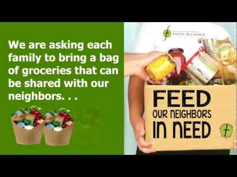 Feed Our Neighbors In Need - The Faith Alliance