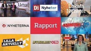 Swedish TV News Intros 2020 / Openings Compilation (HD)
