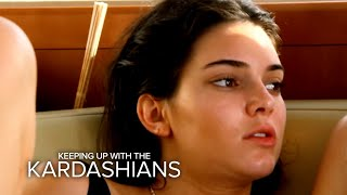 KUWTK | Kendall Jenner Competes for Kylie's Attention |  E!