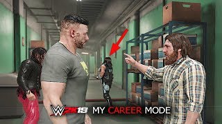 WWE 2K19 My Career Mode All CUTSCENES! Part 1