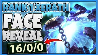 #1 XERATH WORLD | ZWAG FACE REVEAL + PERFECT KDA GAME - League of Legends - YouTube