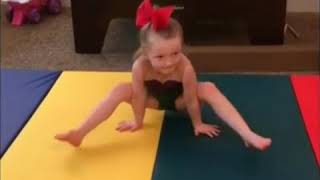 Kaylee's gymnastics evolution age 3-6