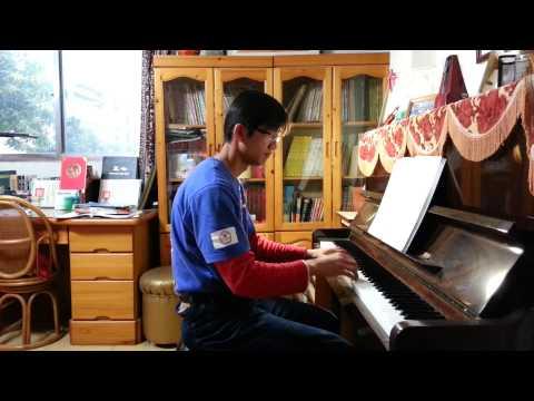 賴勁旗演奏 張韶涵 C大調 鋼琴演奏