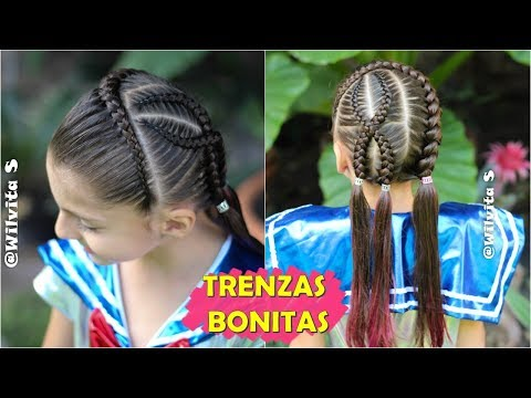 Perfectoimagenes Bonitos Trenzas Peinados Moda Rapidos Www