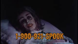 1-900-921-SPOOK  the hotline of Spookshow Macabre (1988) 80s hotline commercial extravaganza!