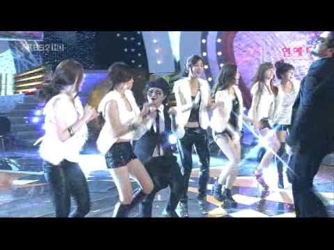 Kim Tae Woo & Kim Shin Young [2/2] - Love Rain (Entertainment Awards 2009)