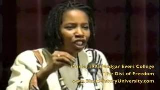 iYanla Vanzant part 4 1995 @Medgar Evers College: