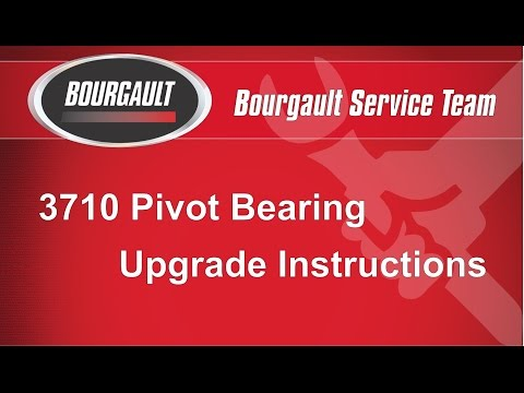 Bourgault 3710 Parallel Arm Bearing Upgrade Instructions