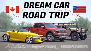 Attainable Dream Car Road Trip - Ford Raptor, Plymouth Prowler, @ChrisFix  Hummer H1