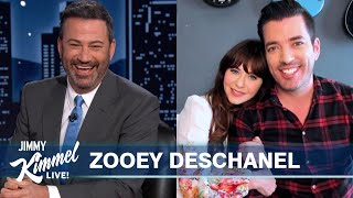 Zooey Deschanel Doesn't Know Which Property Brother She's Dating
