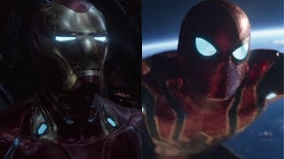 AVENGERS INFINITY WAR - Best Spider-Man and Iron Man Moments HD