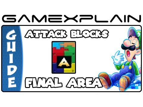 Mario & Luigi: Dream Team - Final Area Attack Block Locations - Smashpipe Games