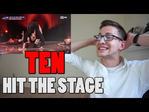 [Hit The Stage] NCT Ten Intense Exorcism Reaction