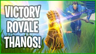 Victory Royale Being Thanos!