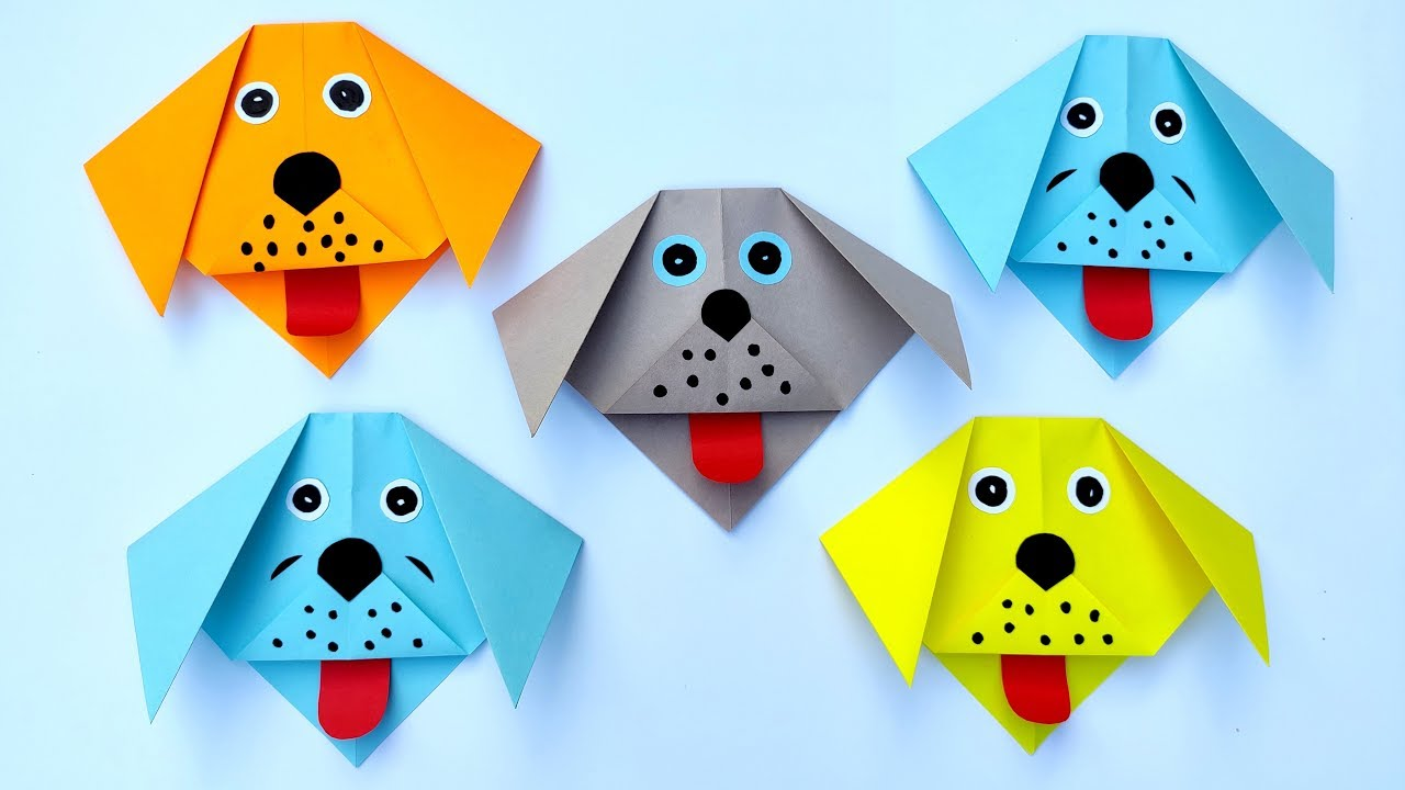 Easy Origami Paper Dog | 720x1280