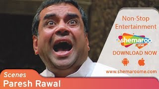 Paresh Rawal Best Comedy Scenes from Blockbuster Comedy Movie Bhagam Bhag   Bollywood Comedy Movies