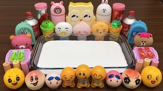 Mixing Makeup and Floam Into GLOSSY Slime | Satisfying Slime Videos | Slime Mixing