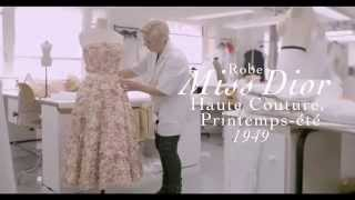 The Making of the Miss Dior Dress
