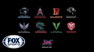 The XFL Unveils Team Names and Logos   FOX SPORTS