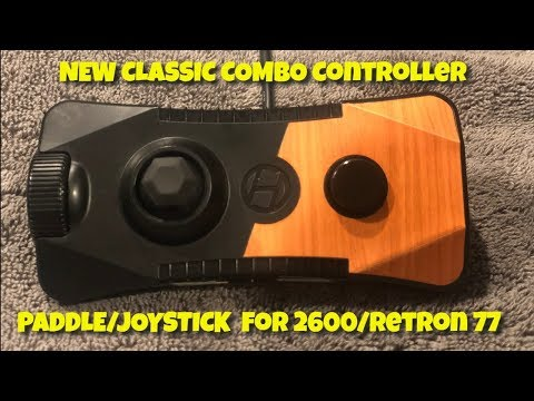 video Ranger Premium Wired Gamepad for Atari 2600/ RetroN 77