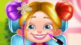 Fun Sweet Baby Girl Care - Spa Day With Daddy Makeover Adventure - Play Spa Dress Up Games For Girls