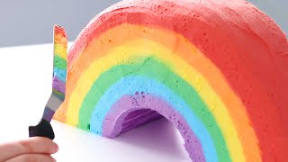 You Won't BELIEVE whats INSIDE this Rainbow CAKE!