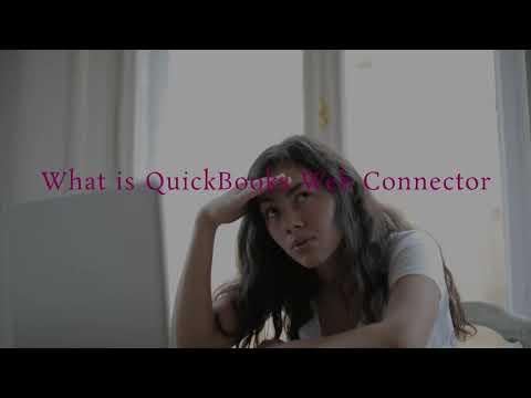 Quickbooks Web Connector To Facilitate Quickbooks online
