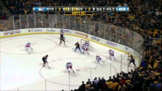 Bruins come back from down 3-0 vs Rags, Jack Edwards loses it 2/12/13