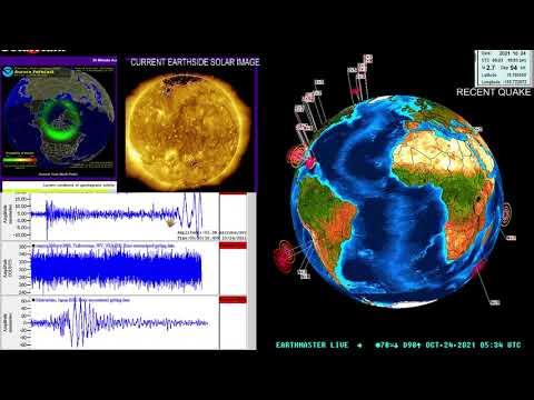 6.2 Earthquake Taiwan Region 10/23/2021