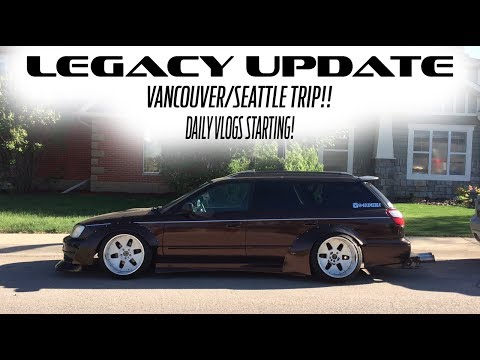 Legacy update + road trips + DAILY VLOGS!