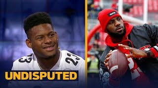 Steelers' JuJu Smith-Schuster is trying to recruit LeBron James to sign with Pittsburgh   UNDISPUTED