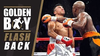 Golden Boy Flashback: Floyd Mayweather vs Victor Ortiz (FULL FIGHT)