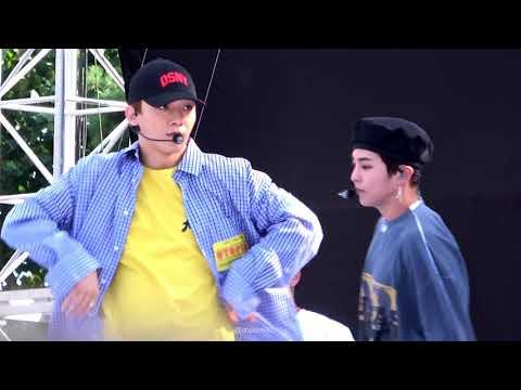 180909 스펙트럼 페스티벌 EXO-CBX Hey mama! 첸(Chen focus)