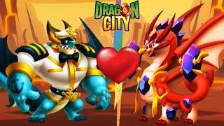 ❤️❤️❤️Lai Giống 2 Con Rồng Heroic Mới Nhất | Dragon City Game Nông Trại Mobile Android, Ios