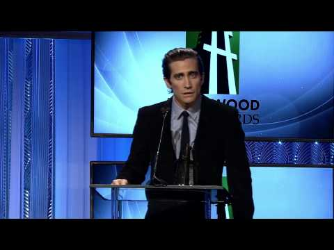 Jake Gyllenhaal Honored for Hollywood Supporting Actor - HFA 2013