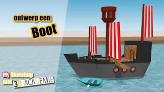 SketchUp for Schools: ontwerp een boot