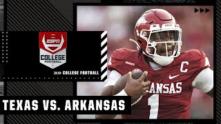 Texas Longhorns at Arkansas Razorbacks | Full Game Highlights