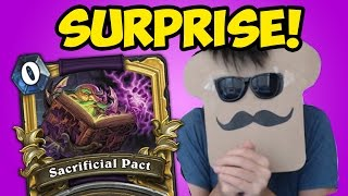 Disguised Toast SURPRISES at Major Hearthstone Tournament