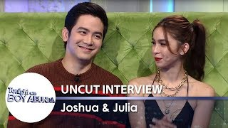TWBA Uncut Interview: Joshua Garcia & Julia Barretto