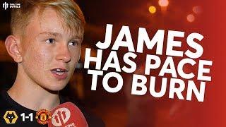 JAMES BEST AS AN IMPACT SUB? Wolves 1-1 Man Utd Fan Reaction