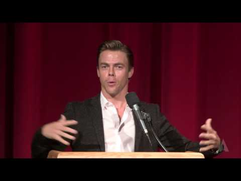 Derek Hough Introduces Singin' in the Rain