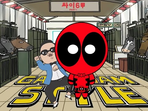 Baixar Deadpool vs Gangnam Style - A PSY Parody