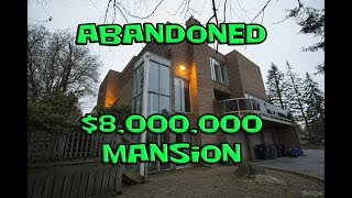 Exploring an Abandoned $8,000,000 Mansion in Ontario