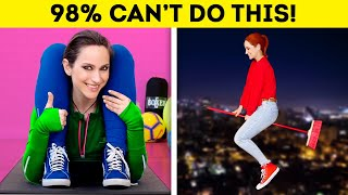22 JAW-DROPPING TRICKS ONLY 2% PEOPLE CAN DO